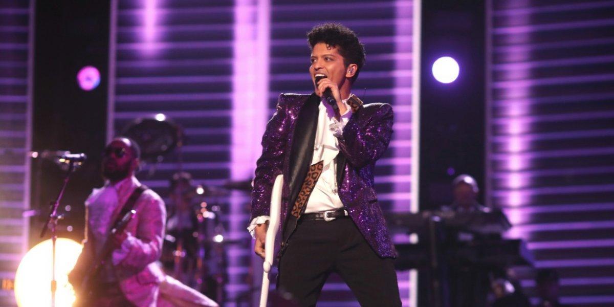 Bruno Mars dará concierto en Colombia en 2018