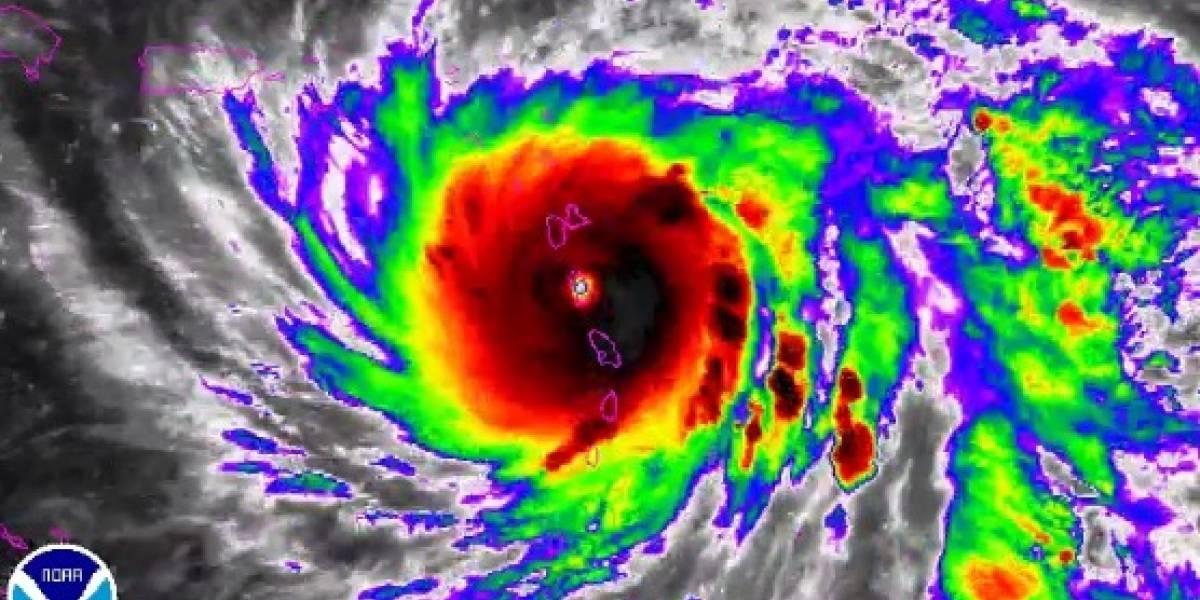 """""""El más peligroso de la historia"""": huracán María avanza hacia Puerto Rico con vientos de 260 kilómetros por hora"""