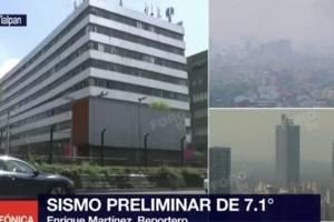 #Videos: Así registraron el terremoto en México