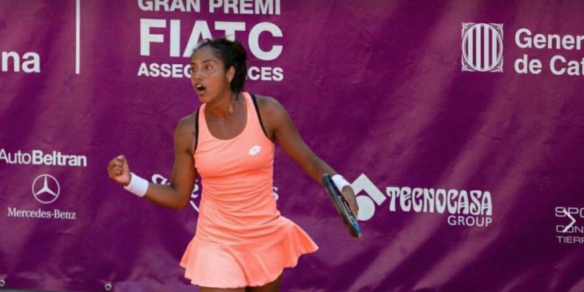 Daniela Seguel avanzó a la segunda ronda del torneo ITF de Saint Malo