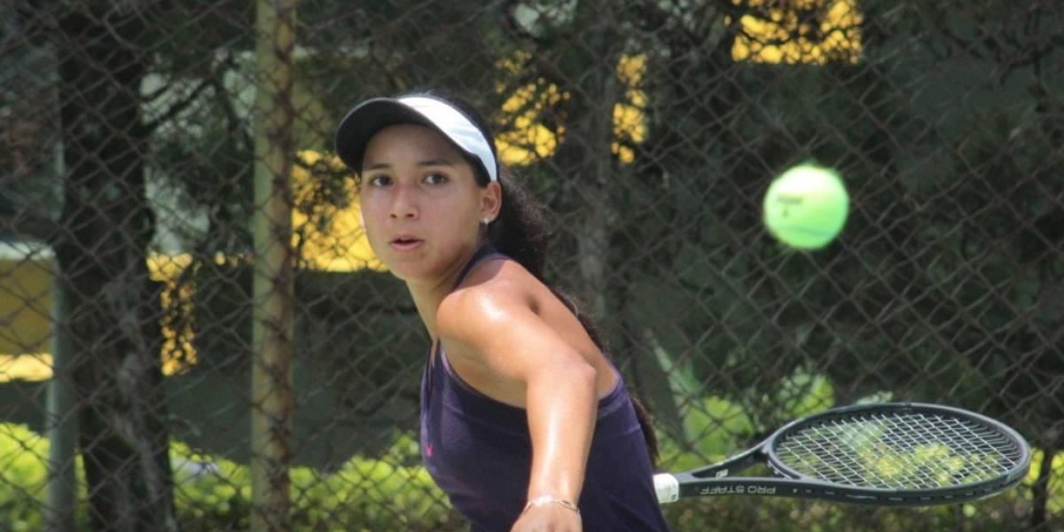 Jimar Gerald da la gran sorpresa y logra su primera victoria en el tenis profesional