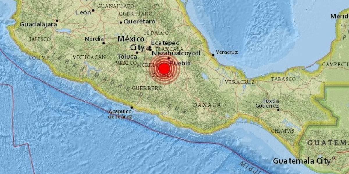 Terremoto de magnitud 6,8 sacude a México y causa escenas de pánico en la capital