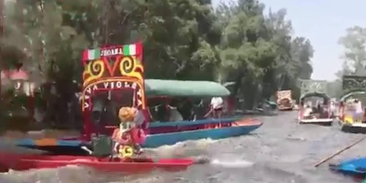 Así se vivió el terremoto en Xochimilco: el tradicional paseo turístico de México
