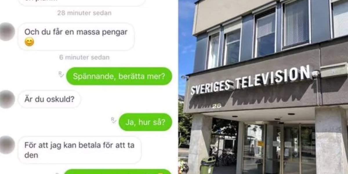 La perversa propuesta de un gerente de la TV sueca a una niña de 14 años