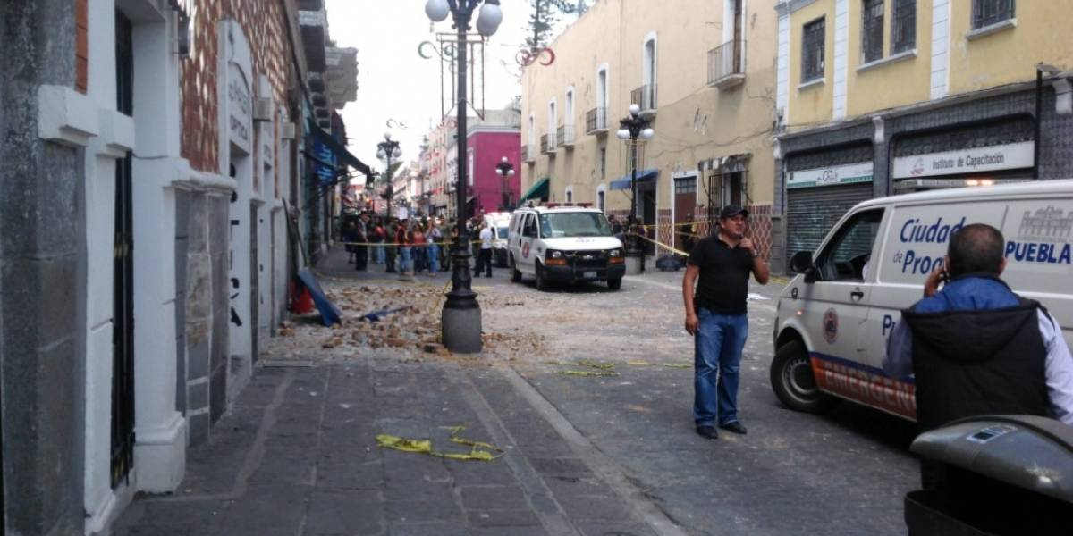 Confirman primeras víctimas fatales por terremoto 7,1 que azotó a México