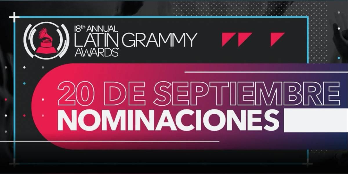 Suspenden anuncio de nominaciones a los Latin Grammy por terremoto en México