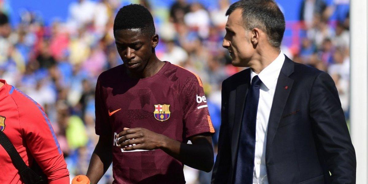 Dembélé fue operado con éxito informó el Barcelona