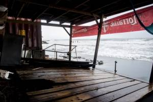 Huracán María golpea Martinica