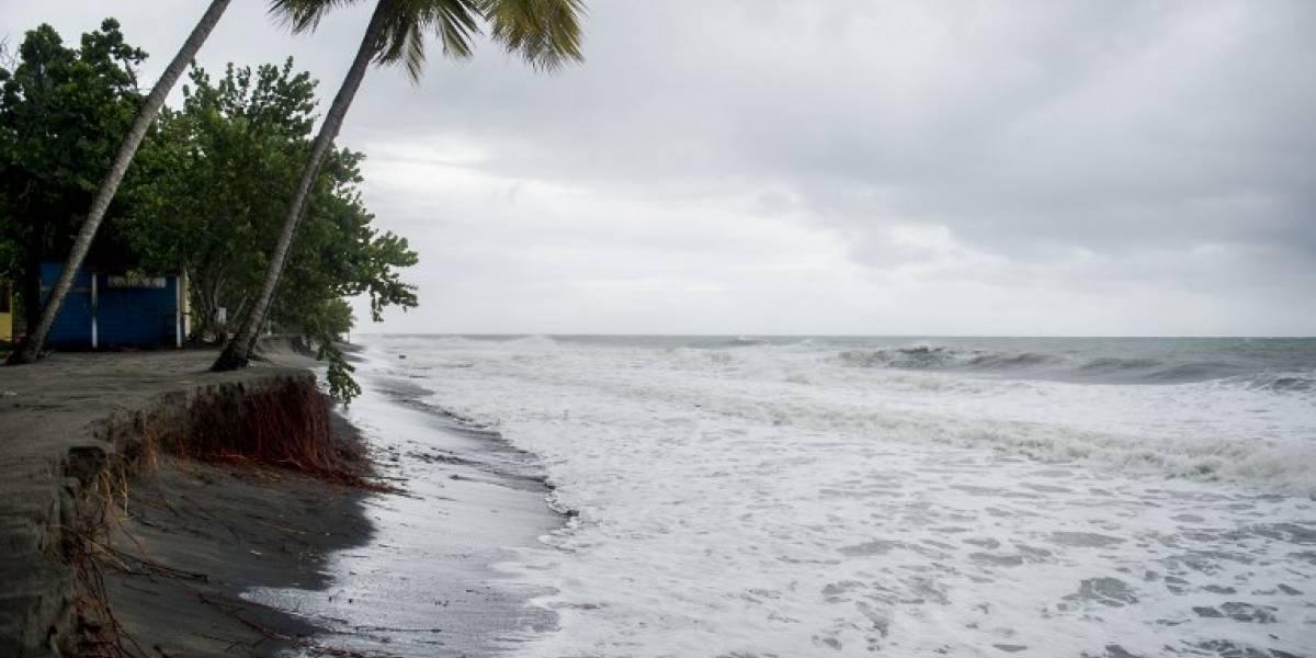 Las lluvias del huracán María golpean Guadalupe