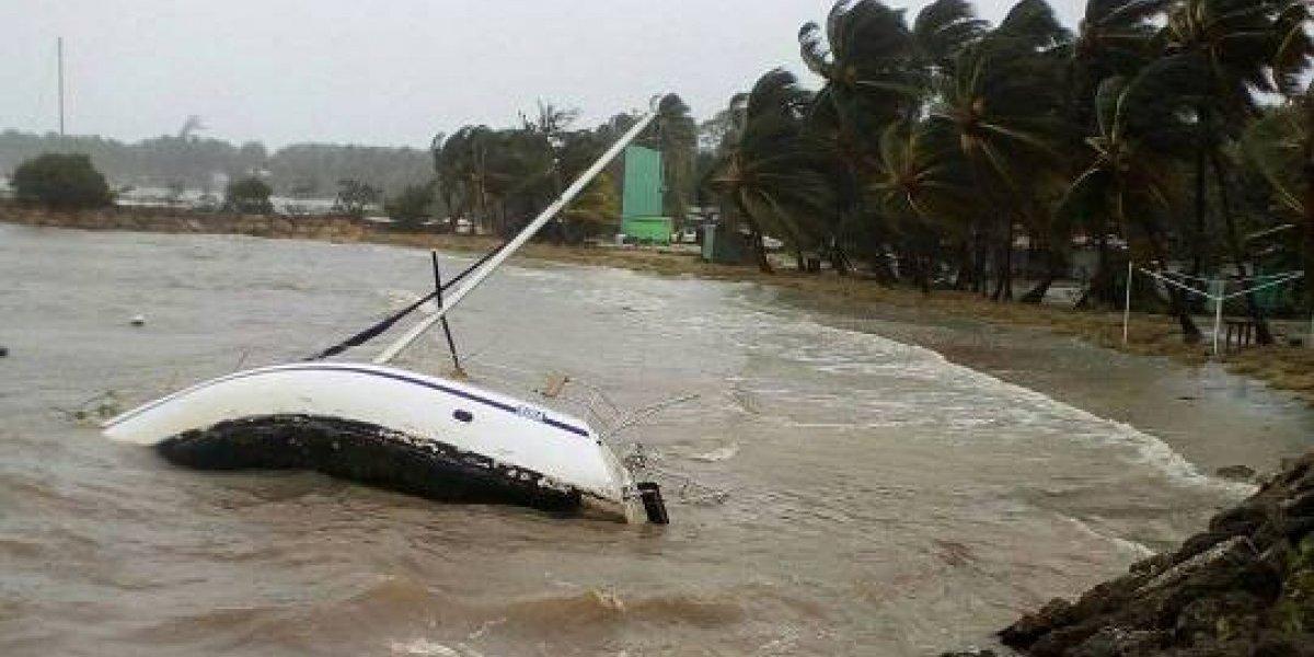 Reportan primera muerte atribuida al huracán María