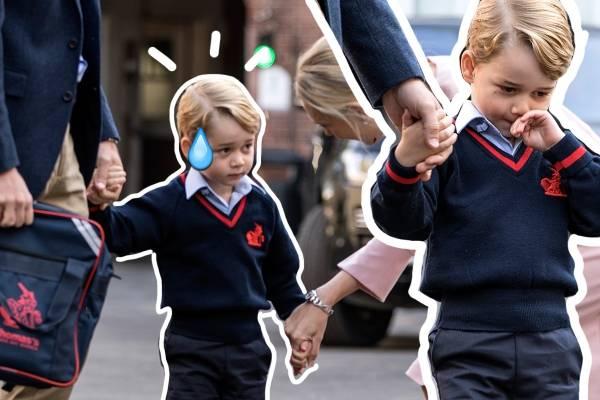 Principe George en la escuela