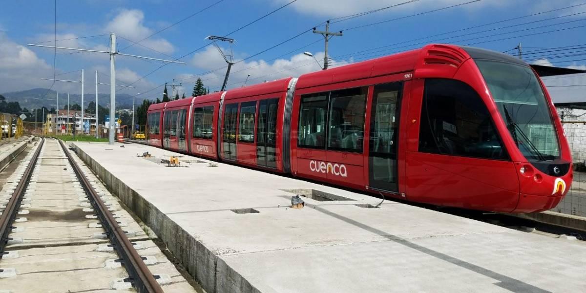 Empresa francesa culminará las obras del tranvía de Cuenca