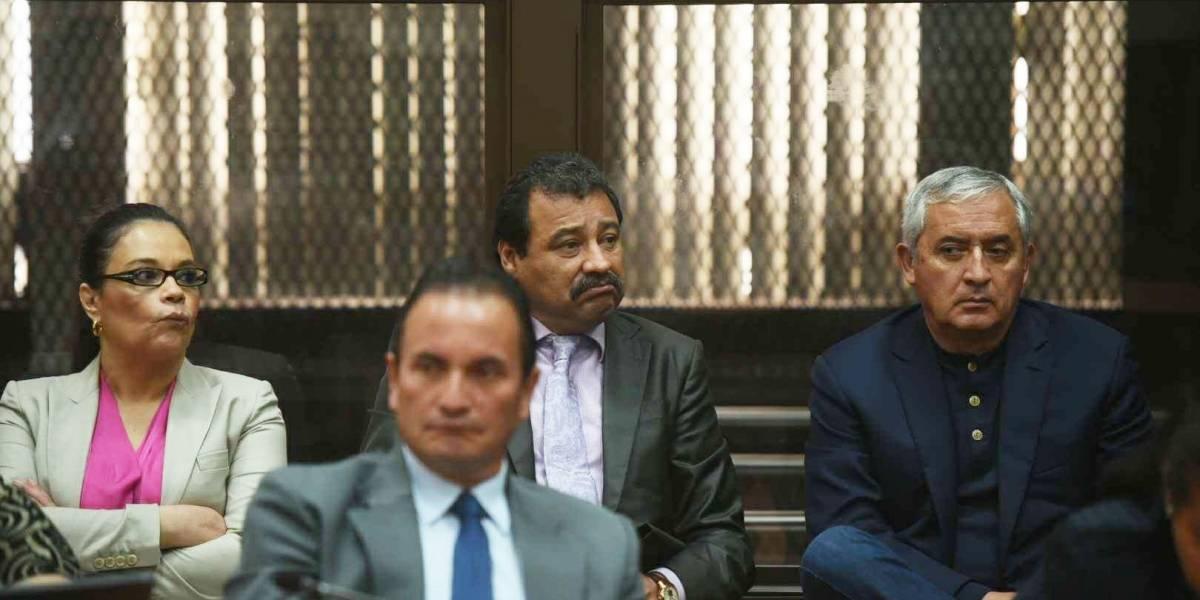 VIDEO. Así trasladan a Otto Pérez del Mariscal Zavala a Tribunales