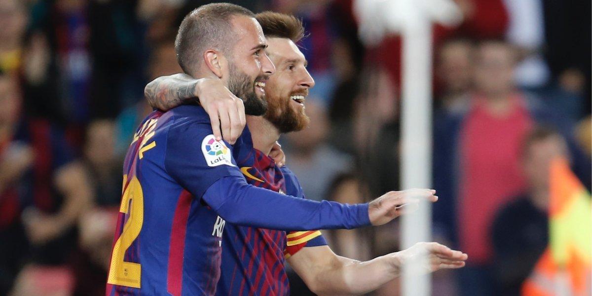 Messi vive un juego memorable y sonríe diferente ante el Éibar