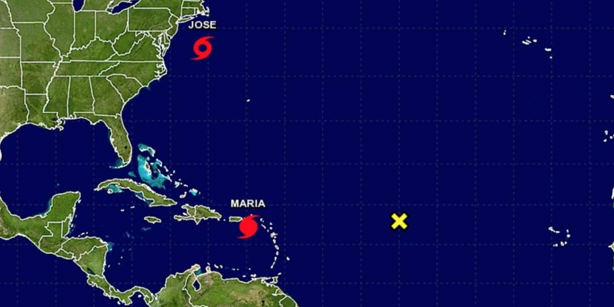 Devastador avance del huracán María