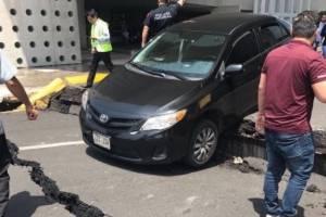 Aeropuerto tras terremoto en México