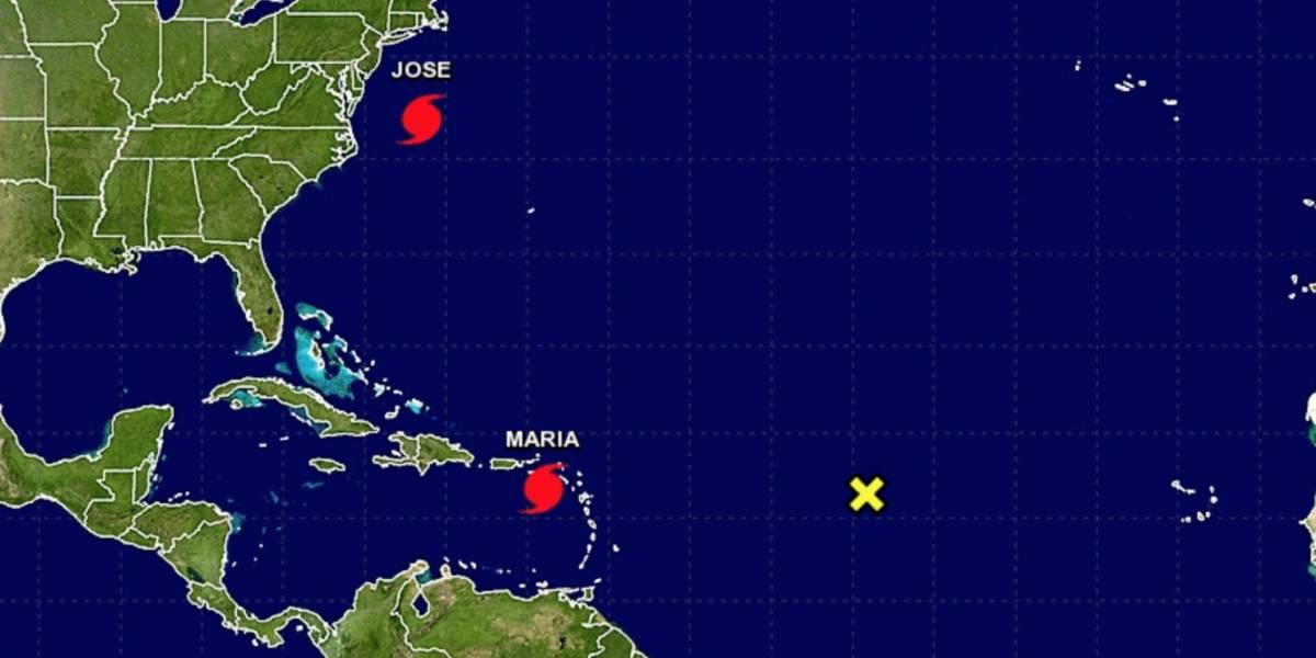 Huracán María continúa categoría 5 con vientos de 165 millas por horas