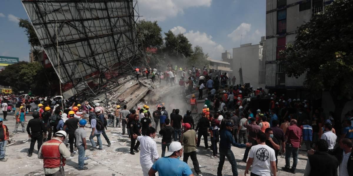 Reportan 119 muertos por sismo en México