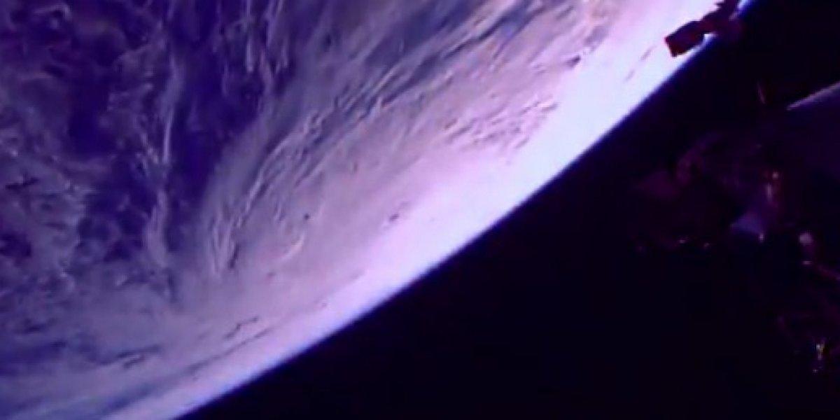 Impresionantes imágenes del huracán María desde el espacio