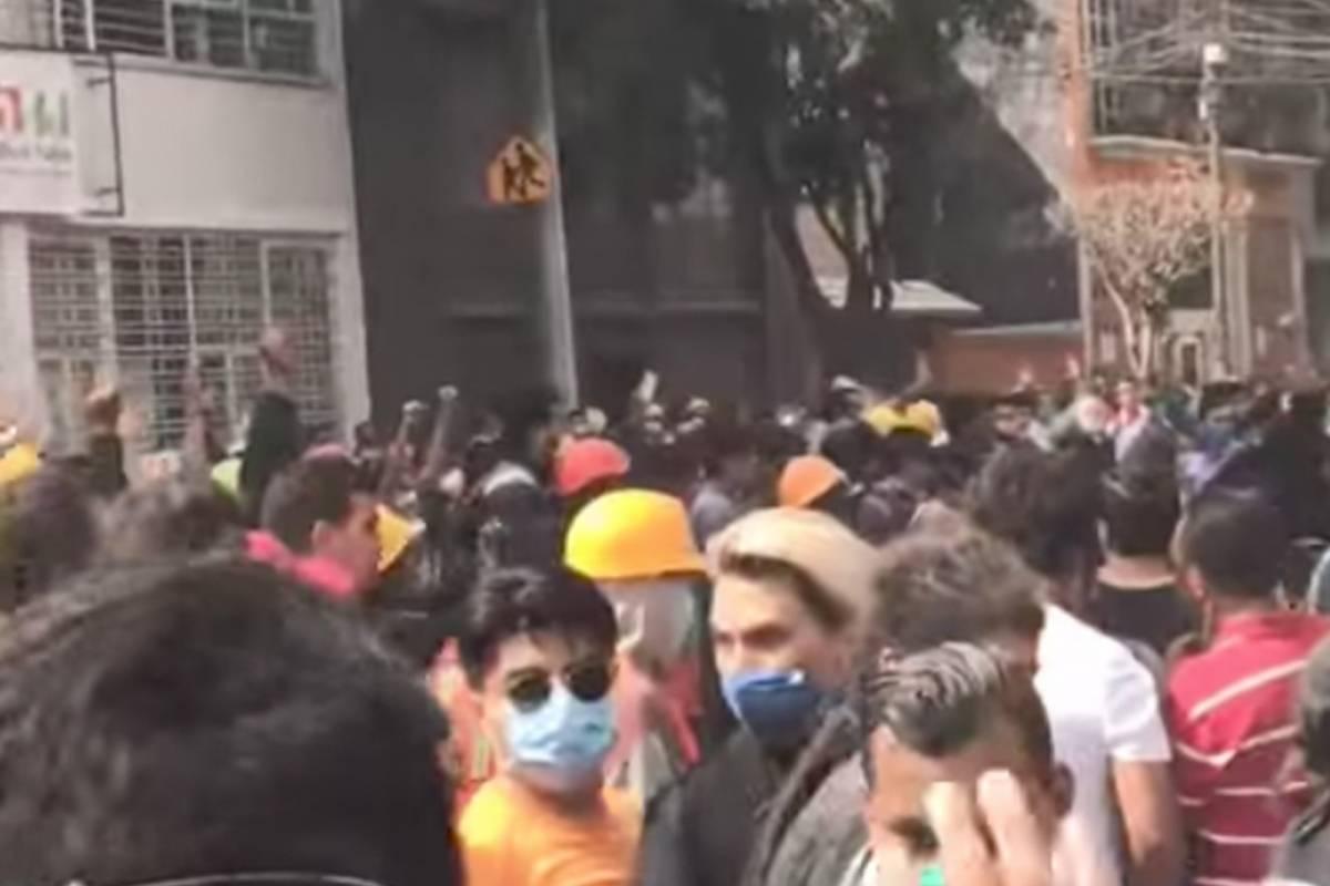 Así se vivió el terremoto en México desde el agua — Twitter