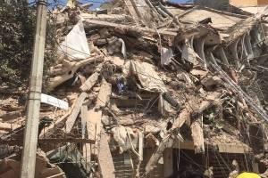 Terremoto: reportan imágenes de daños materiales y edificios destruidos