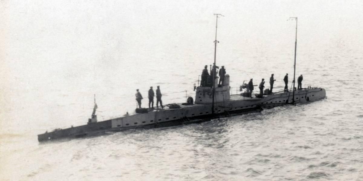 Encuentran un submarino alemán de la Primera Guerra en el Mar del Norte: los tripulantes estarían a bordo