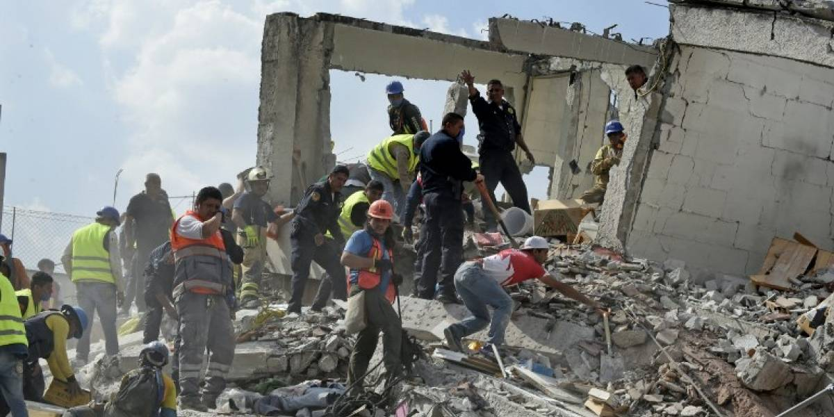 FOTOS. Nuevo sismo en México coincide con aniversario del terremoto de 1985