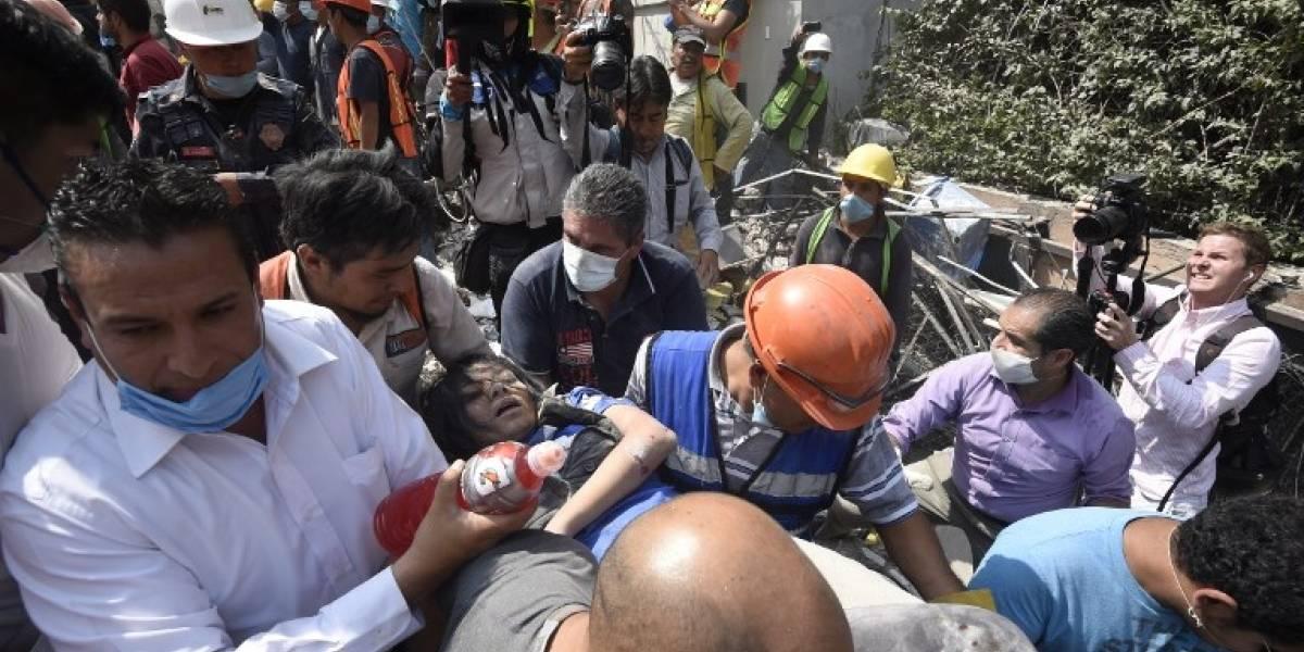 El caos tras el terremoto en México deja estas imágenes