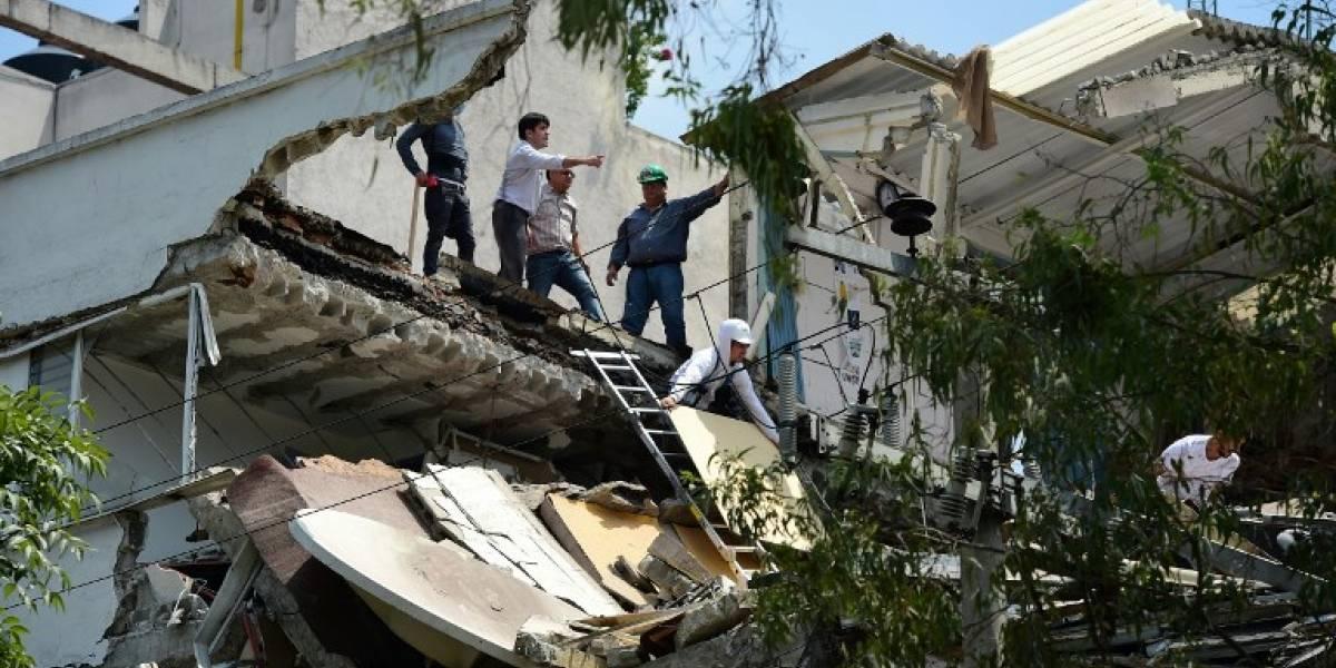 VIDEOS. Nuevo terremoto provoca graves daños en México