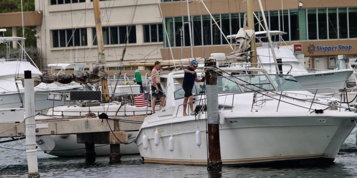 Preparan embarcaciones en Club Náutico ante el paso de María