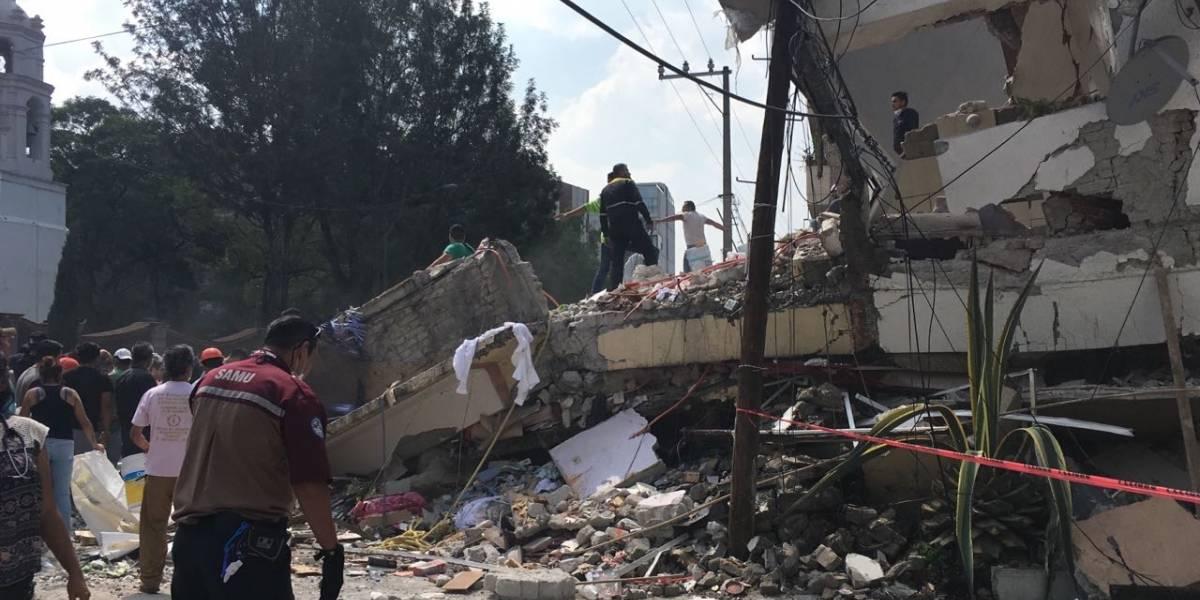 Declara Segob emergencia extraordinaria para CDMX por sismo