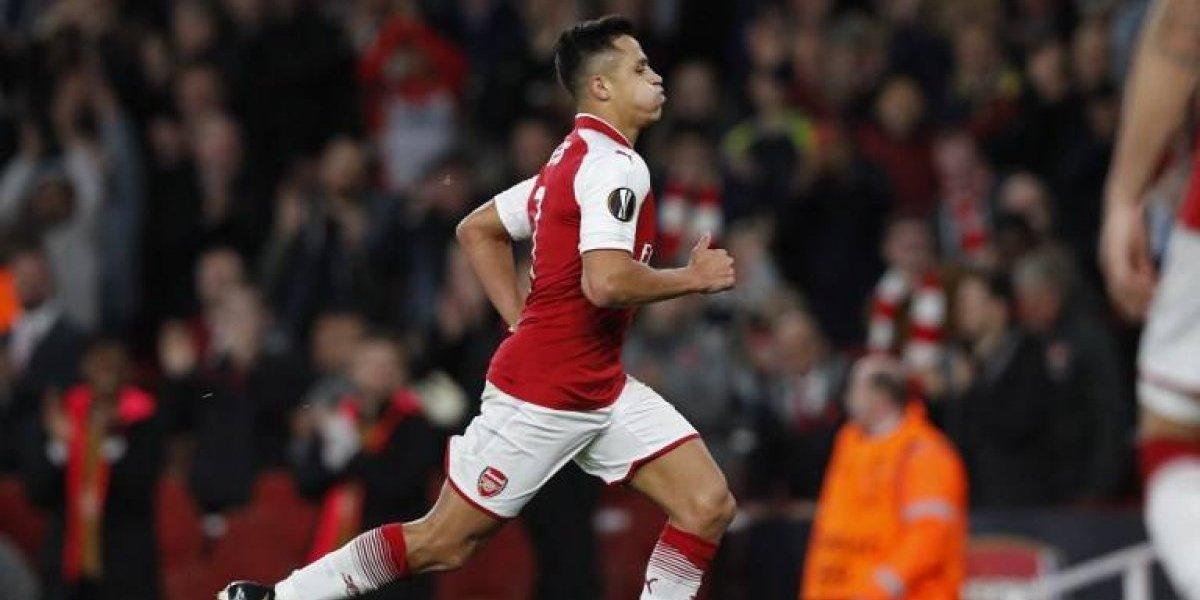 Alexis Sánchez es prioridad para José Mourinho en el Manchester United