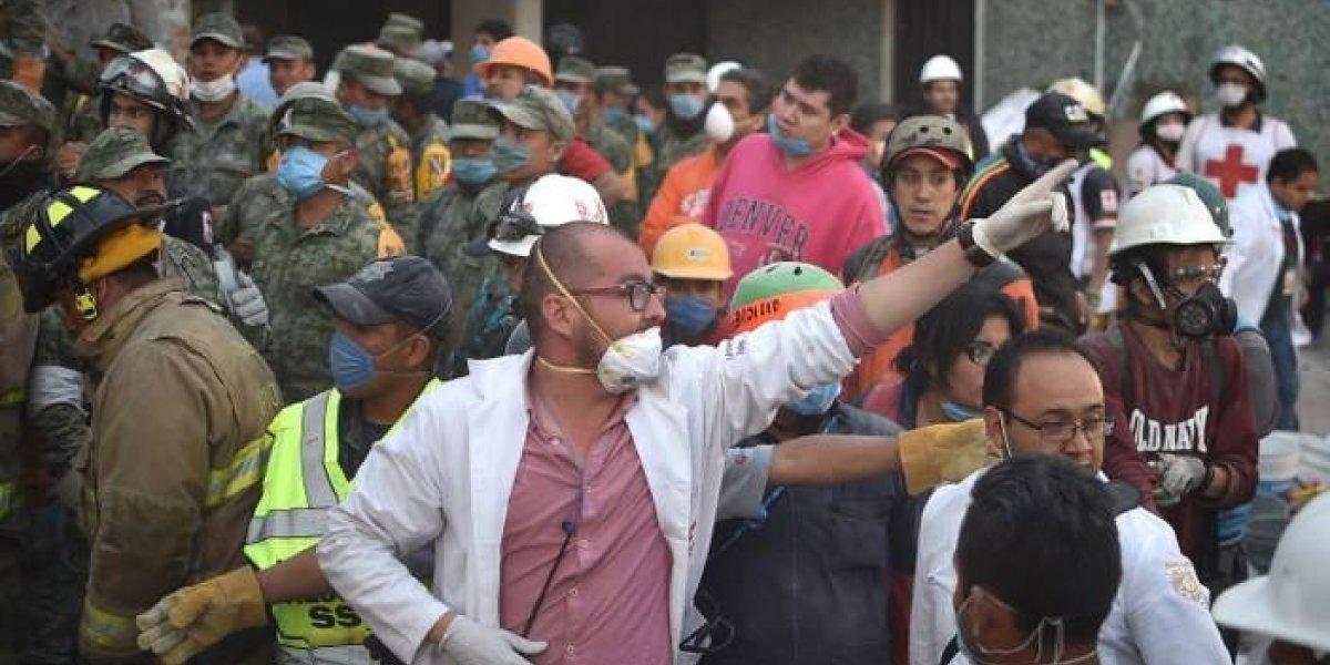 México informa que la ayuda internacional está en camino