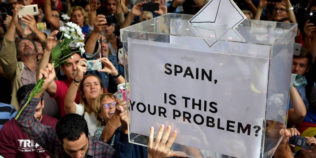 Los tres escenarios posibles que se darían si los catalanes logran votar por el referéndum independentista