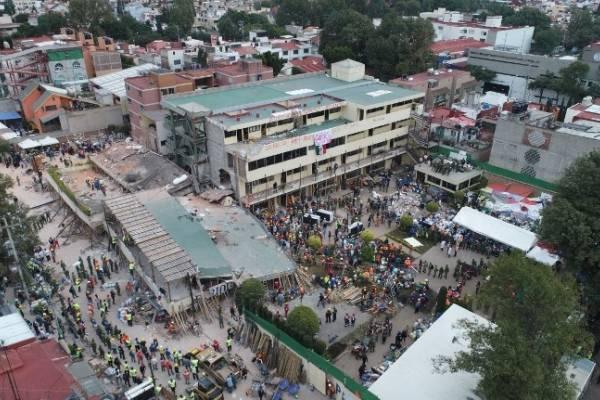 Al menos 302 los fallecidos por terremoto de 7.1 en México