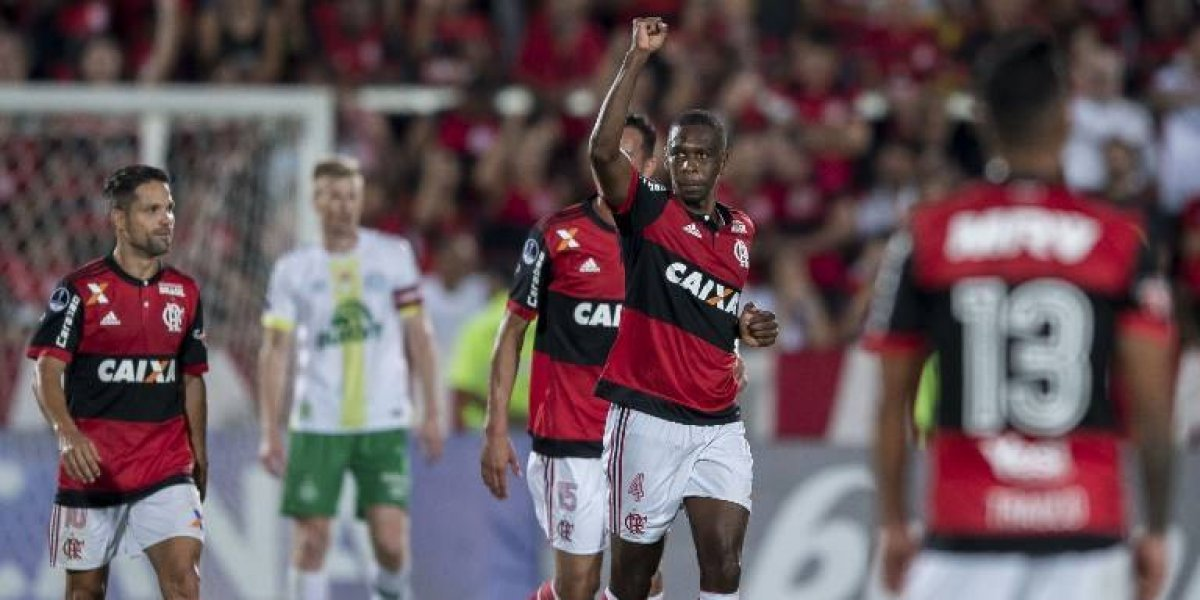 Se acabó el sueño: Chapecoense se fue de la Sudamericana goleado por Flamengo