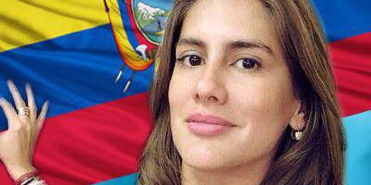 Cristina Reyes: Mi sueño latente es ver a Ecuador surgir