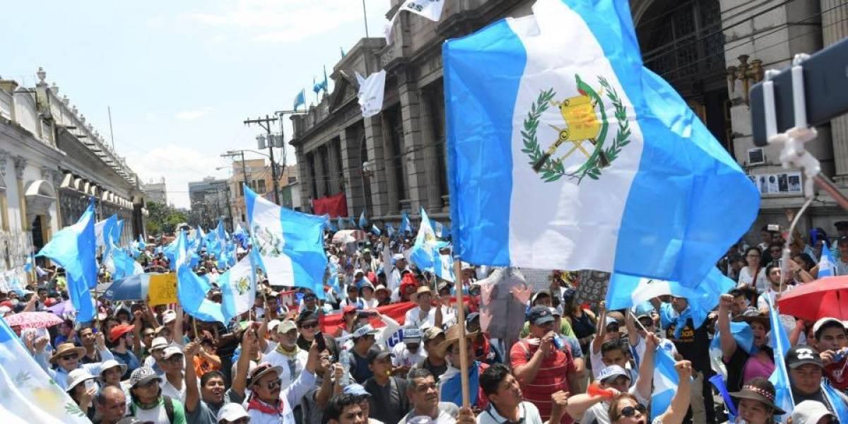 Guatemala hace vibrar Instagram con más de 47 mil publicaciones del #ParoNacional