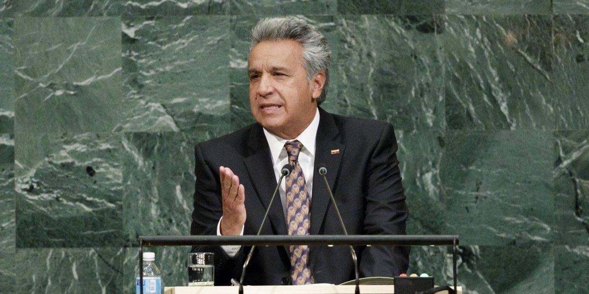Lenín Moreno: 'Cerrar las fronteras no es la solución'