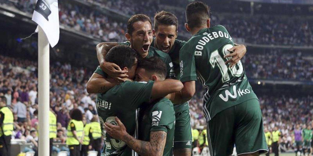 Betis fue hasta el Bernabéu para ganarle al Real Madrid y cortarle histórica racha