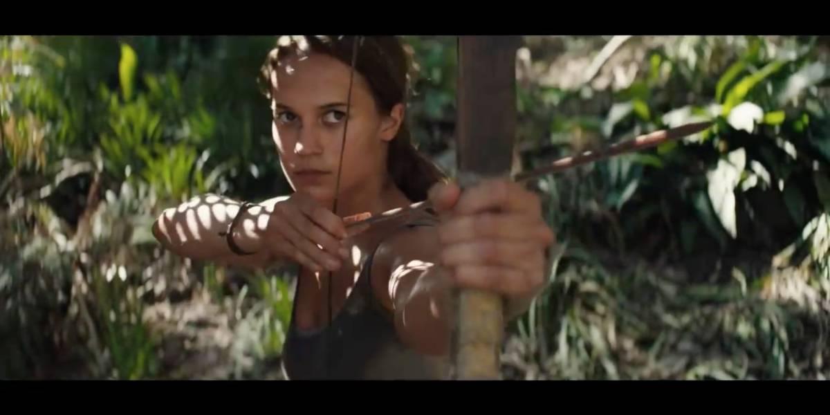 """¡El regreso de Lara Croft! Lanzan primer trailer de """"Tomb Raider"""""""