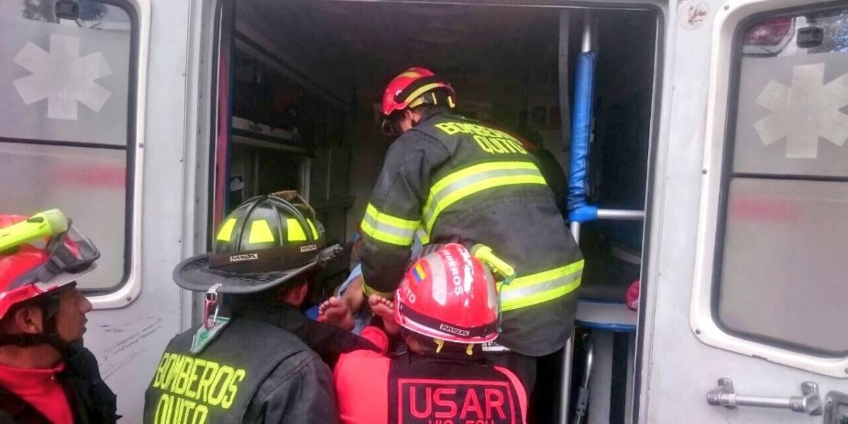 15 bomberos de rescate viajarán a México desde Quito