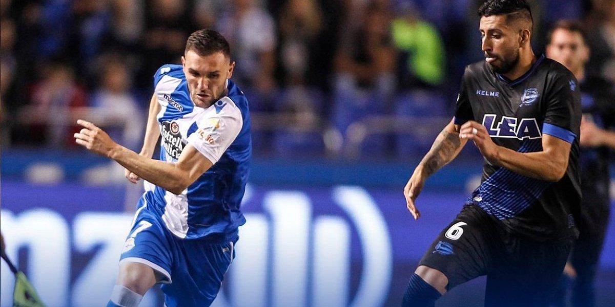 Guillermo Maripán debutó en un Alavés que todavía no sabe de hacer goles