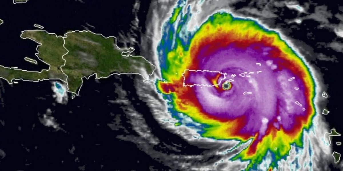 Huracán María azota las Islas Vírgenes estadounidenses y ahora amenaza a Puerto Rico