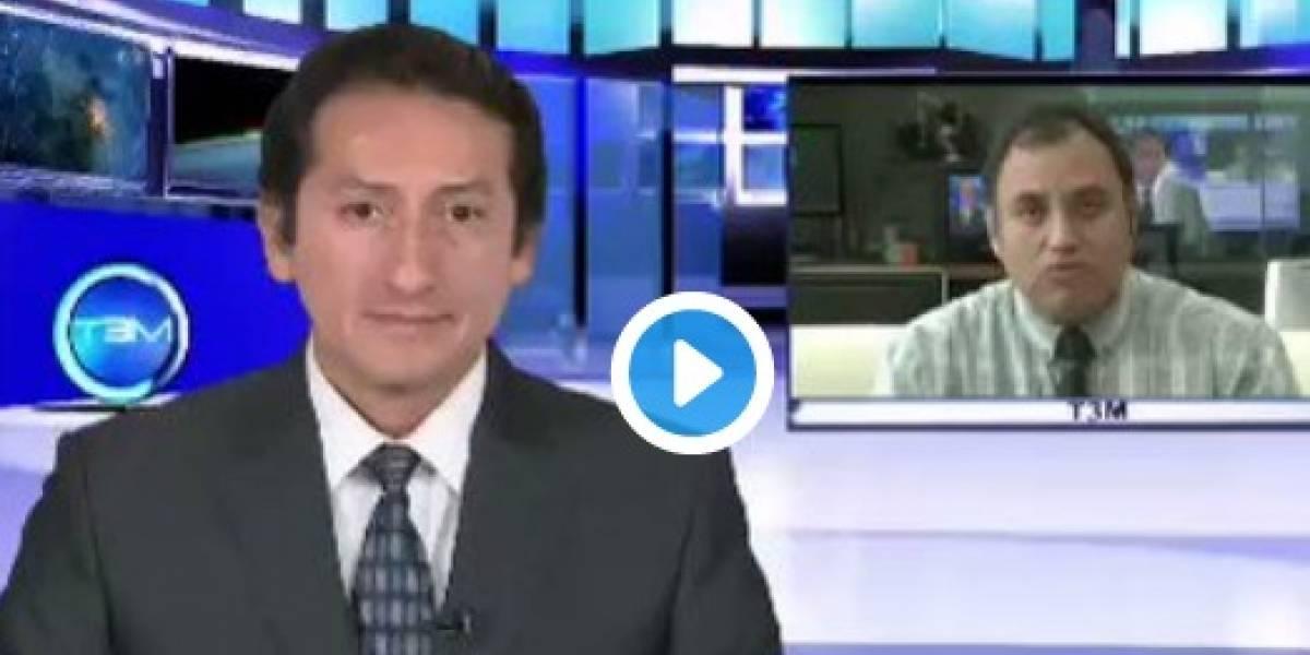 Video: Así reaccionaron presentadores en vivo cuando comenzó a temblar en México