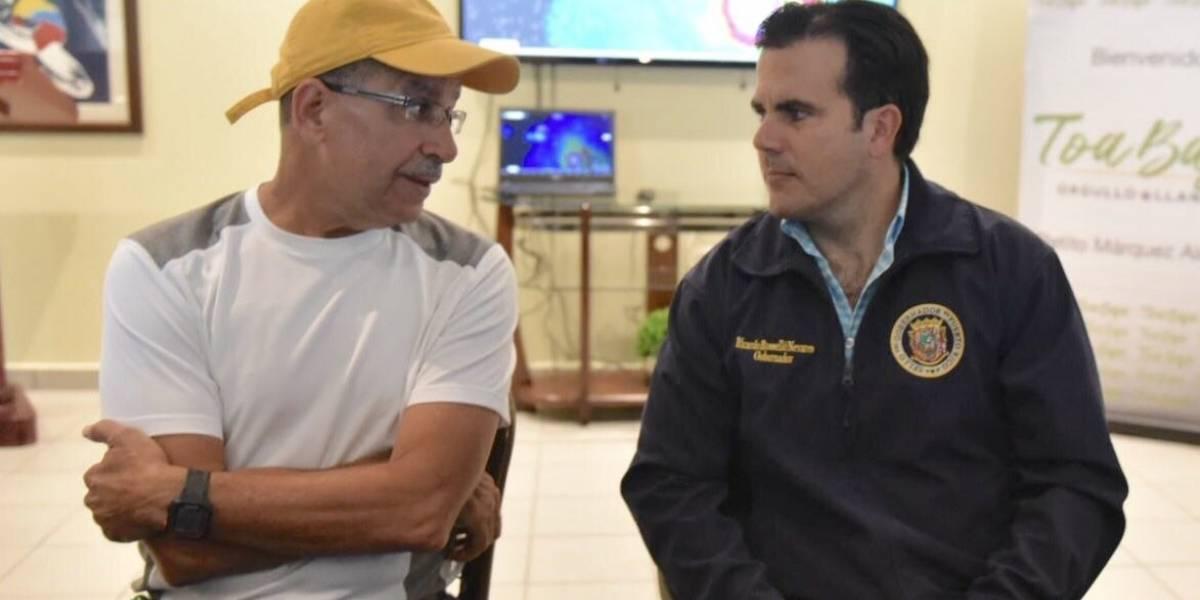"""Roselló afirma que el huracán será """"devastador"""" para Puerto Rico"""