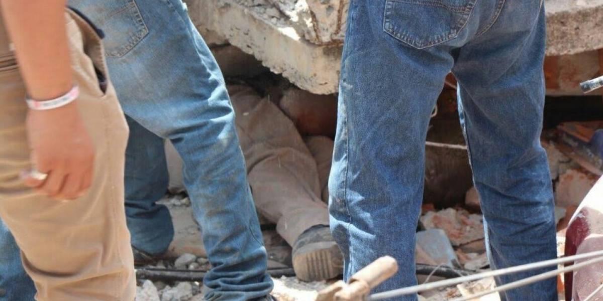 """""""Ví las piernas de personas bajo los escombros"""": El impactante relato desde el epicentro del Terremoto en México"""