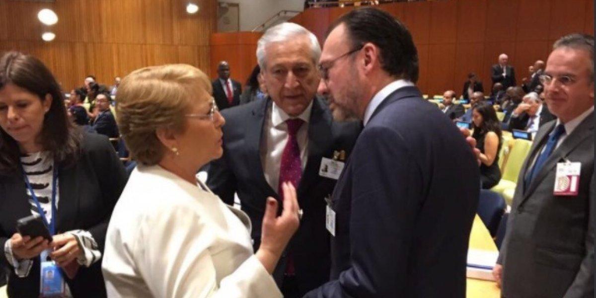 Bachelet expresó personalmente solidaridad con México tras devastador terremoto