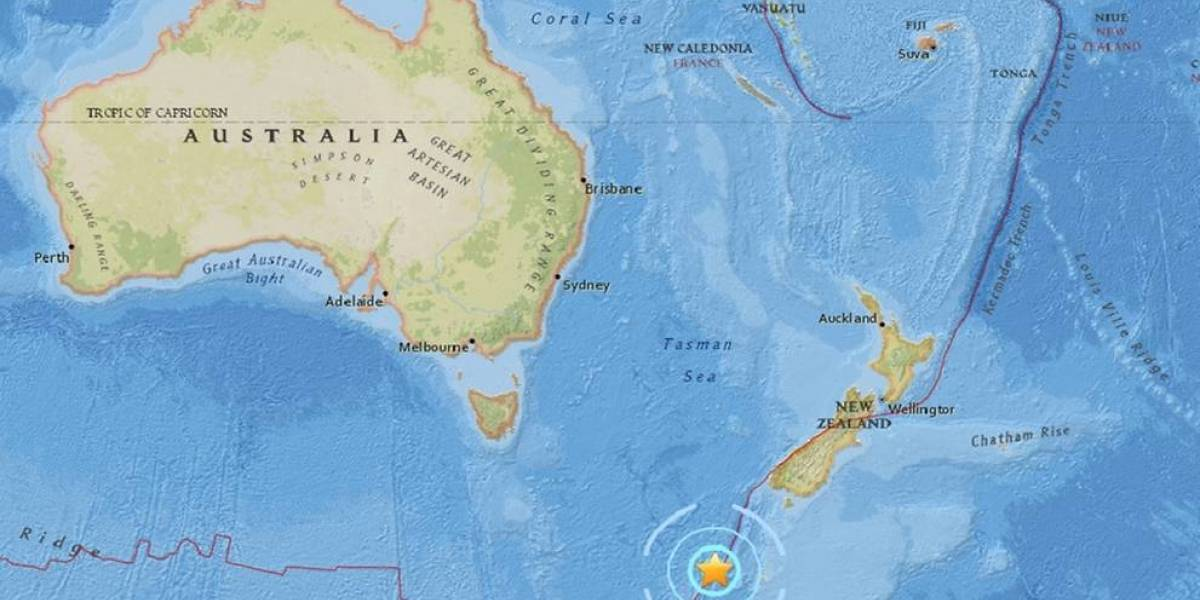 Un terremoto de magnitud 6.1 sacude Nueva Zelanda