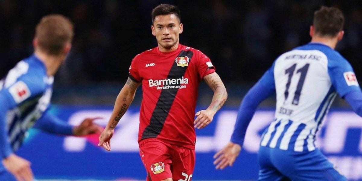 El Leverkusen de Aránguiz volvió a perder y se complica en la Bundesliga
